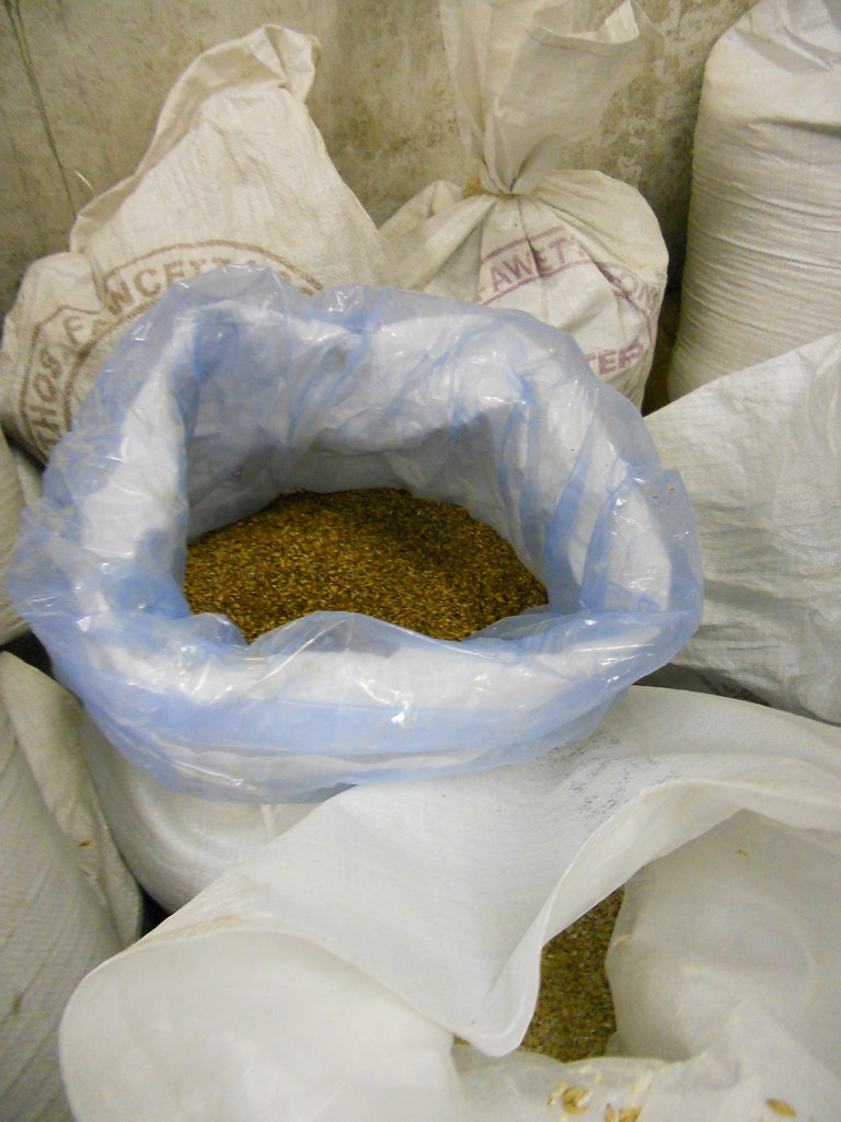 Bags and bags of Malts