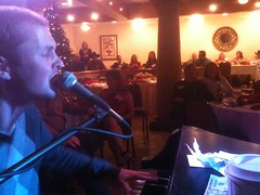 Aaron Beumeler at Howl's Piano-To-Go Show