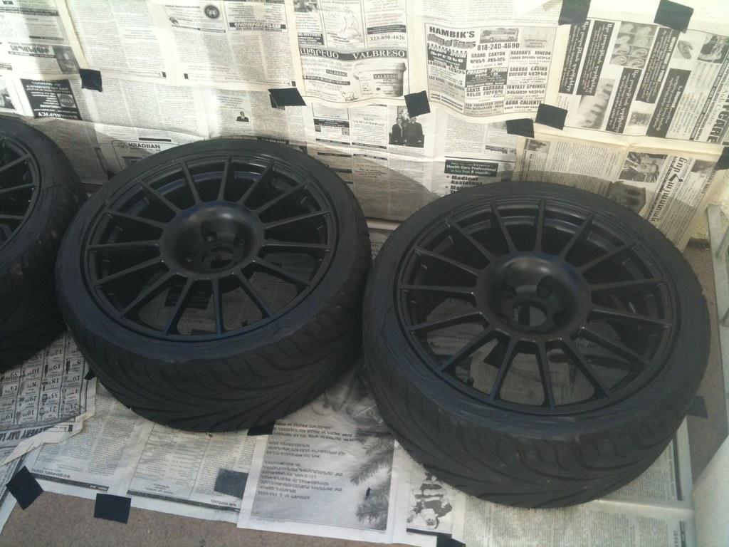 Has anyone tried Dupli-Color wheel paint? - EvolutionM ...