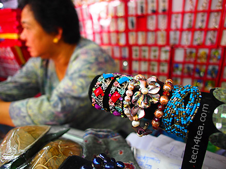 Handicraft market or Pasar Filipino. Taken with Olympus PEN E-P3 with 12mm lens.