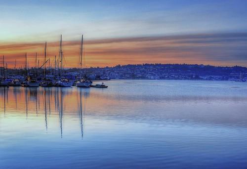Lake Union Sunrise