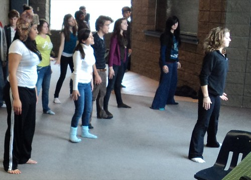 Fine arts dance with Tamara Mayer  by trudeau