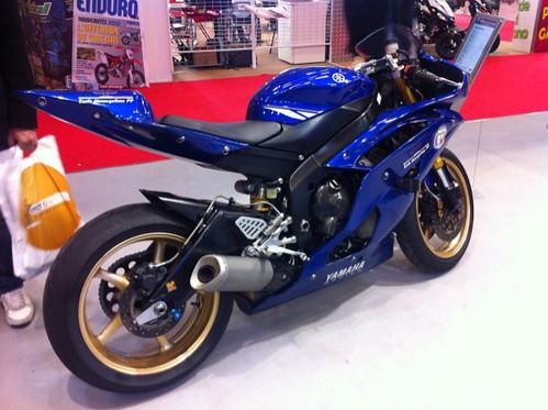 Moto Yamaha Police