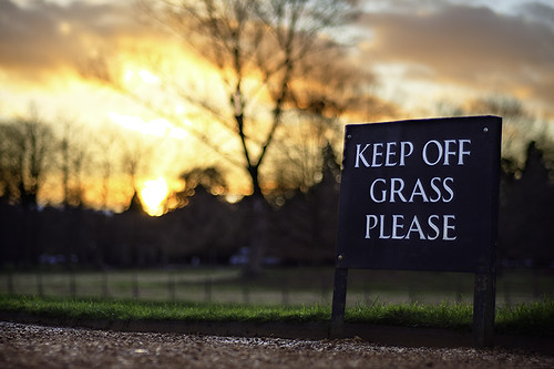 cambridge sunset sign kingscollege hdr keepoffgrassplease