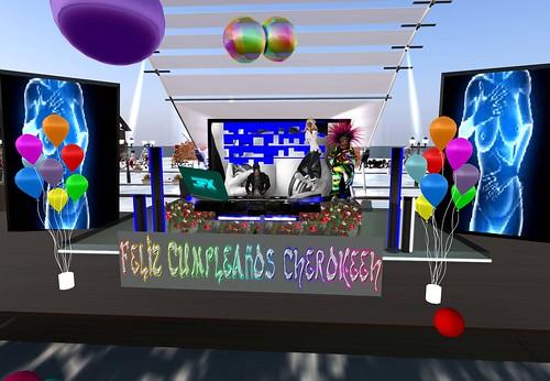 Fiesta de cumpleaños (dj' y bailarines) by Cherokeeh Asteria