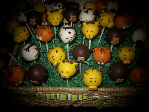 Jungle Cake Pops by Cake Maniac