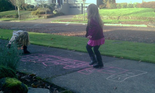 Hopscotch with the neighbors