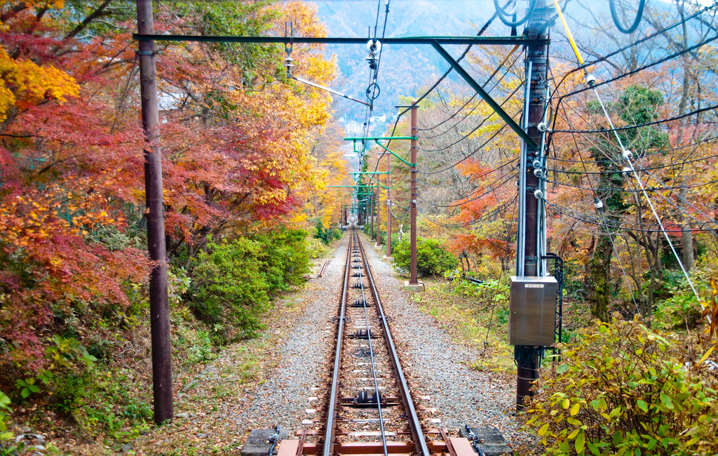 Hakone Tozan Train Rides In Japan