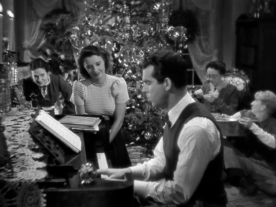 the black and white christmas movie