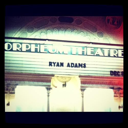 Ryan Adams!
