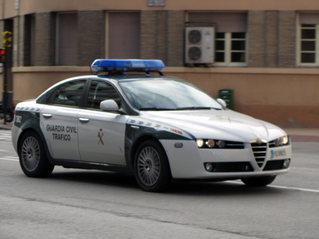 Guardia Civil Tráfico. Alfa Romeo 159