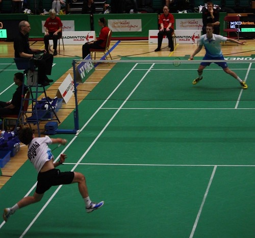 badminton rules  game of precision and power