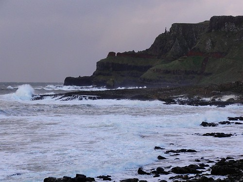 View of the Giants Causeway