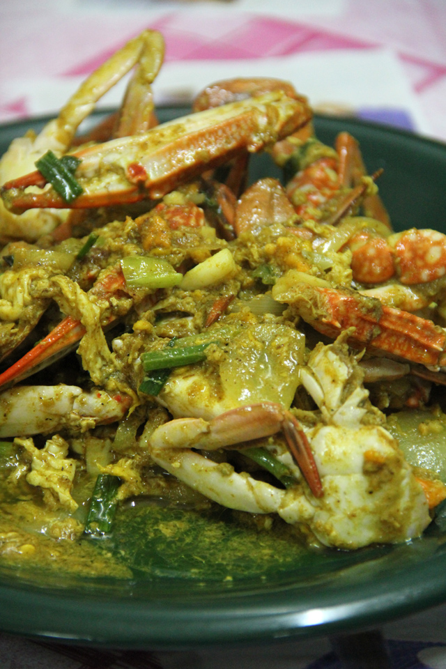 Thai Yellow Crab Curry