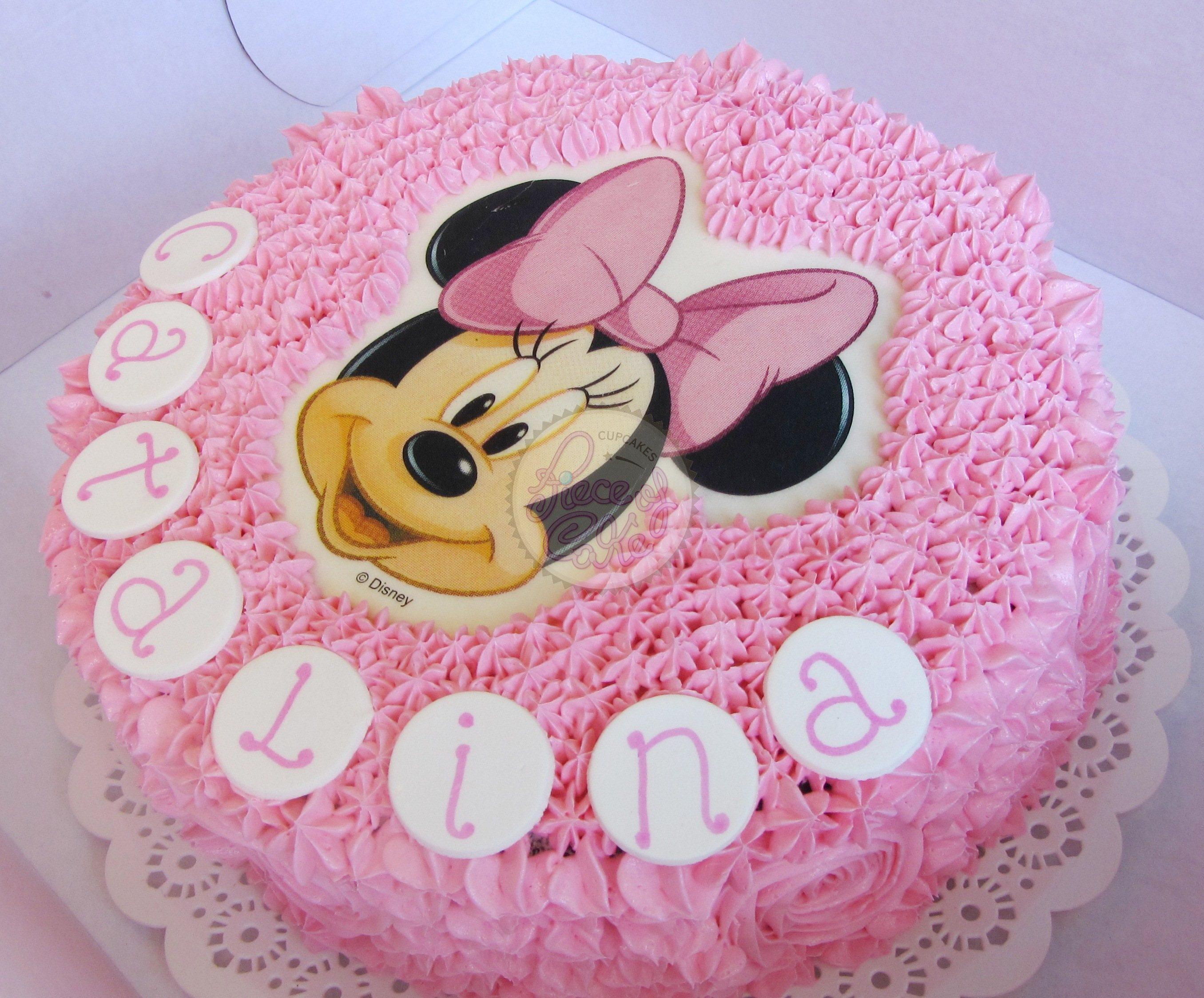 Torta con Minnie Mouse - Imagui