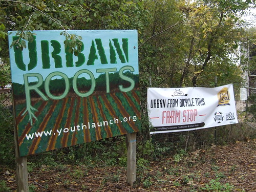 Urban Roots on the bike tour