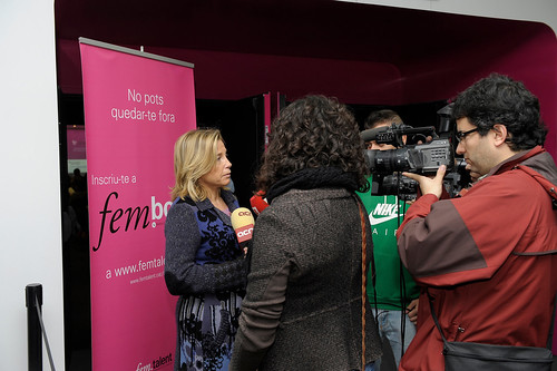 Joana Ortega inaugura el I Fòrum FemTalent