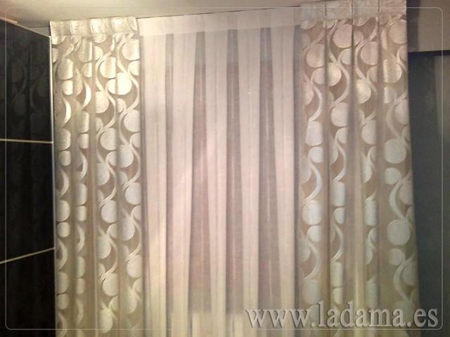 Decoraci n para dormitorios cl sicos cortinas con dobles - Cortinas de dormitorios ...