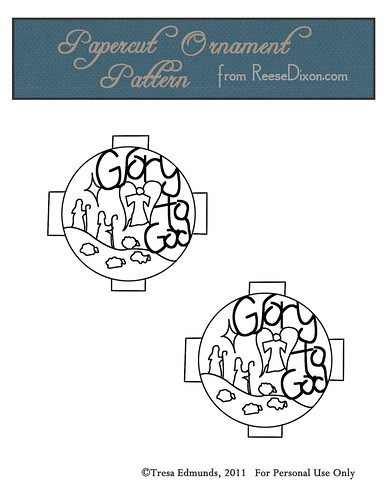 Papercut Ornament Pattern