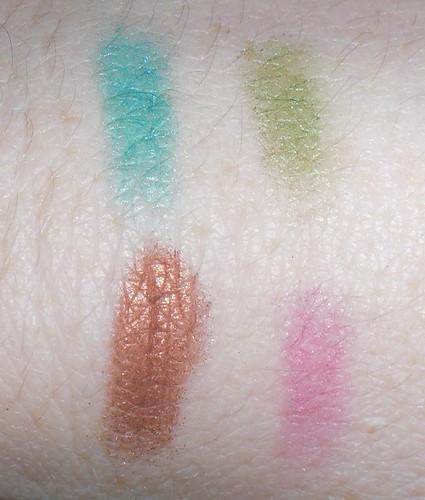 Flormar Quartet Eyeshadow #405 swatches
