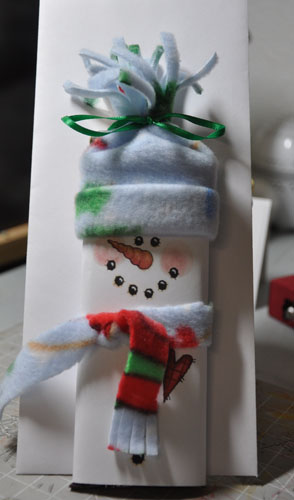 snowman candy by linda