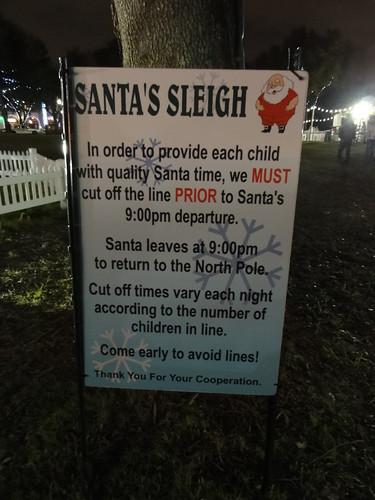 Santa's Rules