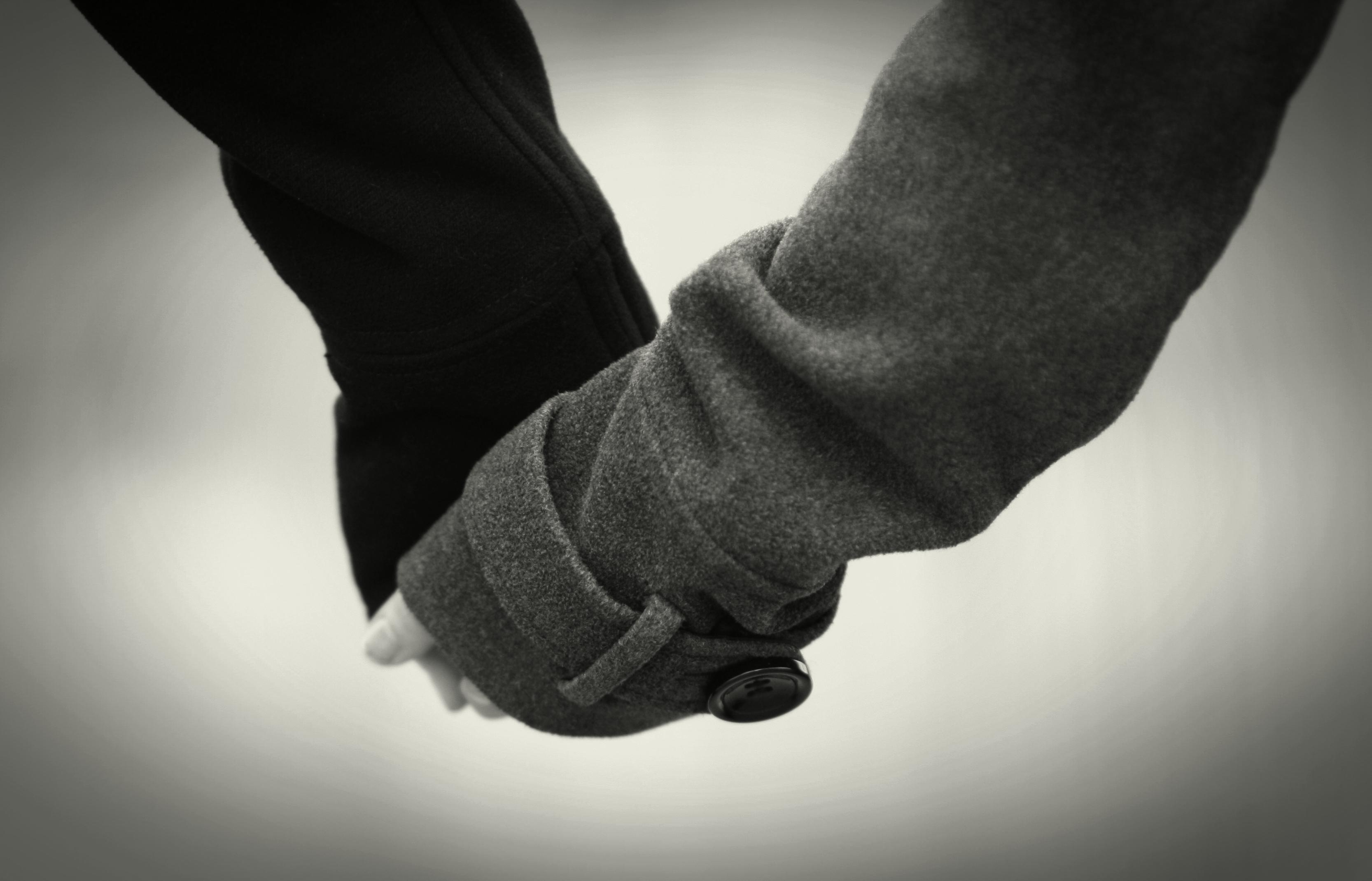 Hand Holding Black And White   www.imgkid.com - The Image ...