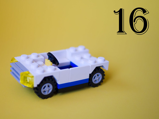 LEGO City Advent Calendar – Day 16: The car body