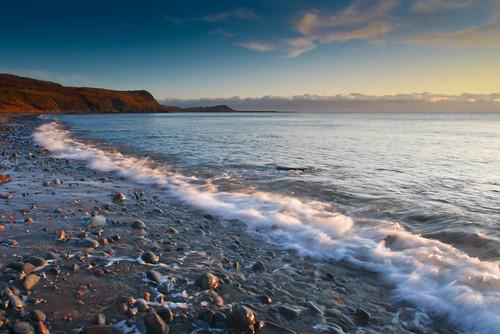 uk light sea beach water rebel coast scotland seaside empty pebbles christmaseve deserted solway galloway irishsea sigma1020mm machars monreith canon450d