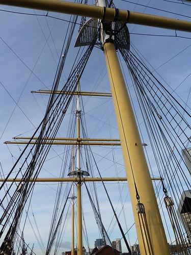 Masts and Rigging, Glenlee