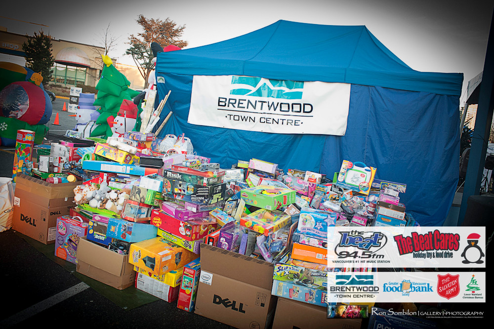 The Beat Cares Holiday Toy Food Drive At Brentwood Town