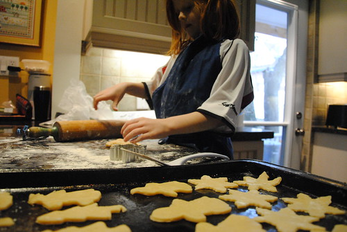 day of Christmas baking