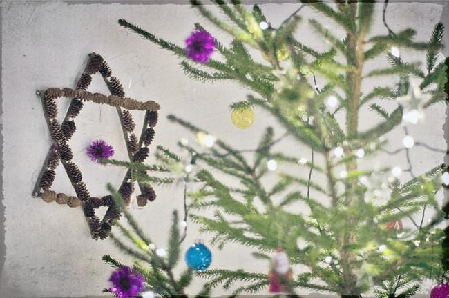 julgranen och stjärnan