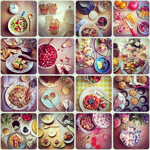 food iphoneograhy compilation