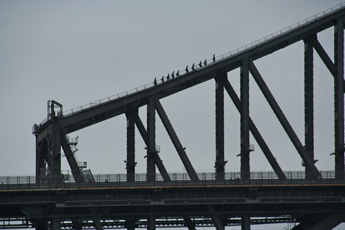 Bridge Walkers, Sydney Harbour Bridge, Sydney, Australia
