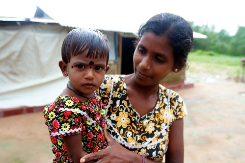 A widow and her daughter in Malayalapuram