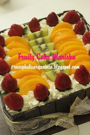 Fruity Cake Mariska 22/12/11