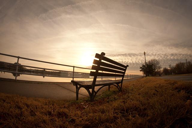 East Potomac Park Bench
