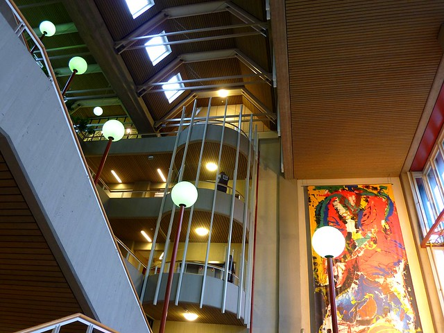 The Library of the University of Groningen (entrance)
