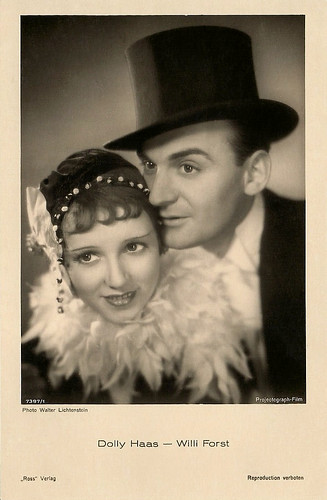 Dolly Haas, Willi Forst