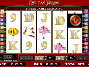 Eastern Dragon Free Spins