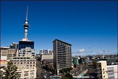 Auckland downtown buildings