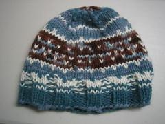 Colorwork scrap hat