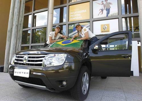 Rallye Des Gazelles dupla feminina da Renault do Brasil #2012