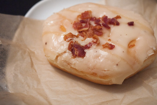 Maple Bacon Doughnut @ Jelly Modern Doughnuts