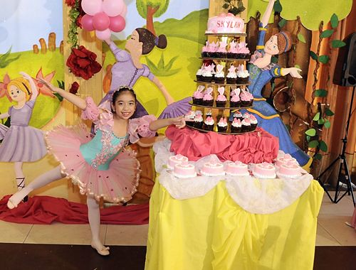 7th-birthday-cake,ballerina-theme