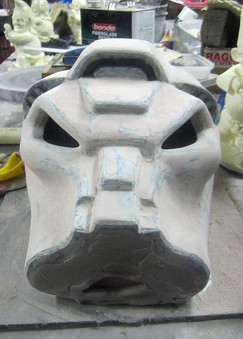 Terminator Helmet Fairing Continues