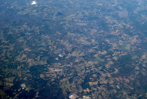 Aerial photo of northern Florida