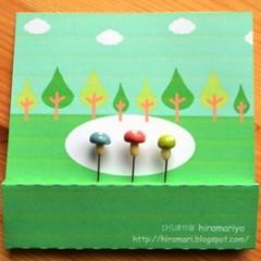 Mushroom pins