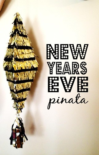 NYE Pinata with Text